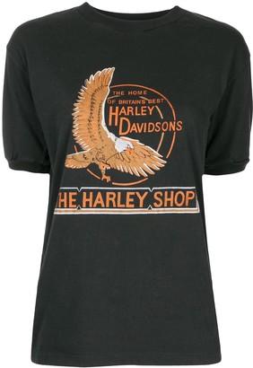 The Harley Shop print T-shirt