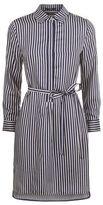 SET Striped Shirt Dress