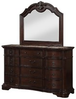 Ziggy 12 Drawer Chest Astoria Grand Color: Brown