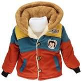 Happy Cherry Kids Boys Warm Hoodies Outerwear Jacket Coat Size 5