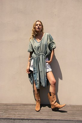 Free People Blessings Kaftan Dress
