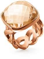 Folli Follie Apeiron rose gold crystal ring