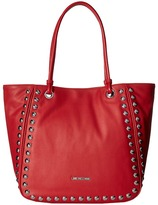Love Moschino Studded Large Tote Tote Handbags