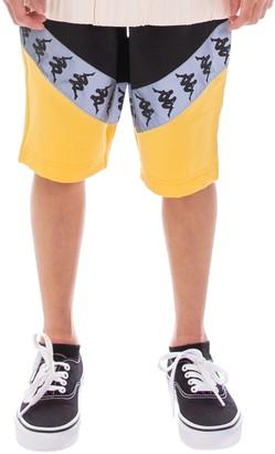 Kappa Little Boy's & Boy's Reflective Tape Shorts