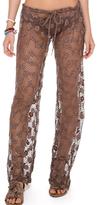 Luli Fama Cosita Buena Beach Pant In Sandy Toes (L503839)