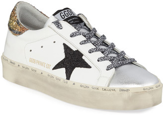 Golden Goose Hi Star Tiger Leopard Sneakers