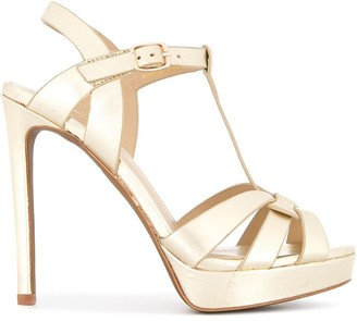 Lola Cruz platform stiletto sandals