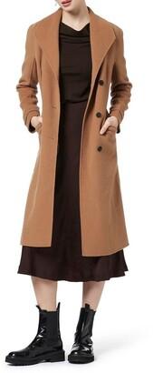 David Lawrence Yasmin Wool Coat