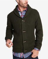 Weatherproof Vintage Men's Shawl-Collar Cardigan