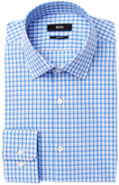 HUGO BOSS Marley Plaid Sharp Fit Dress Shirt