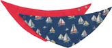 Cath Kidston Boats & Buoys Baby 2 Pack Teething Bibs