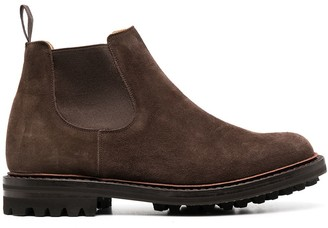 Church's Suede Chelsea Boots