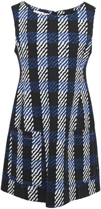 Marni Flared Jacquard Mini Dress