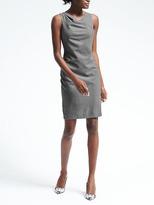 Banana Republic Lightweight Wool Inverted-Pleat Dress