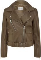 Reiss Kate Leather Biker Jacket