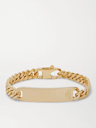 Bunney 18-Karat Gold Id Chain Bracelet