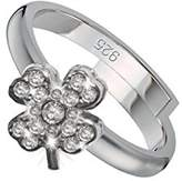 Scout Children's Ring 925 Silver Rhodium Plated White Cubic Zirconia Ring Size – 263011100
