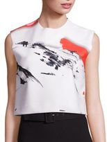 SOLACE London Cooper Printed Cropped Top
