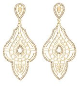 Charlotte Russe Embellished Cut-Out Earrings