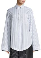 Aquilano Rimondi Oversized Striped Shirt