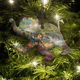 Disney Thomas Kinkade Jungle Book Elephant-Shaped Hanging Acrylic