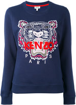 Kenzo tiger patch jumper - women - Cotton - S