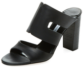 Cosenza Leather Cut-Out Mule