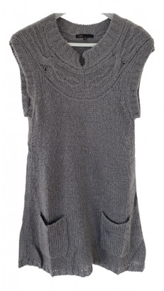 Maje Grey Wool Dresses
