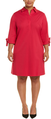 Lafayette 148 New York Plus Talia Shift Dress