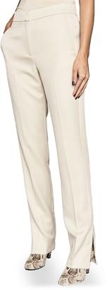 Reiss Farah Tux Side Zip Trouser