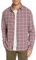Grayers Oscar Trim Fit Plaid Oxford Sport Shirt