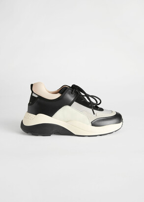 And other stories Chunky Sole Technical Sneakers