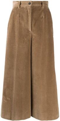 Dolce & Gabbana Wide-Leg Culotte Trousers