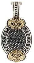 Konstantino Bi-Color Black Diamond Pendant