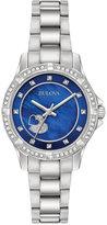 Bulova Women's Stainless Steel Bracelet Watch 30mm 96L238