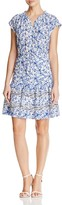 Rebecca Taylor Aimee Floral-Print Silk Dress