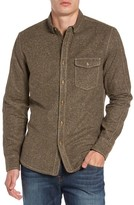Jeremiah Men's Utah Nep Heather Flannel Shirt