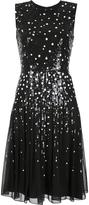 Carolina Herrera sequin dots detailing dress