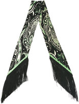 Rockins - pricklypaisley skinny silk scarf - women - Silk - One Size