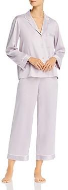 Natori Feathers Satin Pajama Set