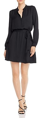 Joie Leonore Belted Faux-Wrap Dress