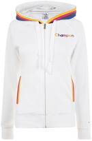Champion Rainbow Zip Through Hoodie