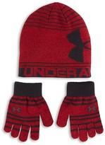 Under Armour Boys' Knit Beanie & Glove Set - Sizes 2-7