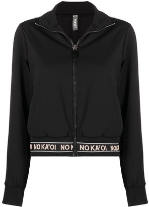NO KA 'OI Logo-Tape Track Jacket
