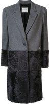 Ungaro buttoned mid-length coat