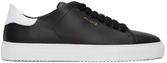 Axel Arigato Black Contrast Clean 90 Sneakers