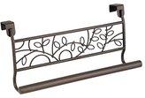 """InterDesign Twigz Over-the-Cabinet Kitchen Dish Towel Bar Holder - 9"""", Bronze"""