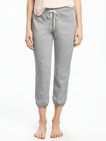 Old Navy French-Terry Capri Sleep Joggers for Women