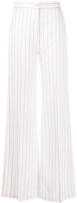 Liu Jo Stripe Print Wide-Leg Trousers