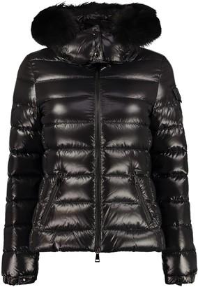 Moncler Badyfur Fur Hood Down Jacket